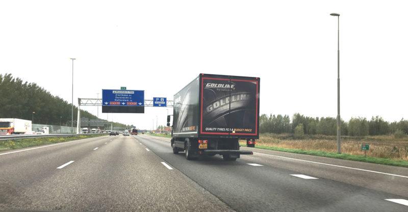Pregon Goldline trailer Van den Ban Group